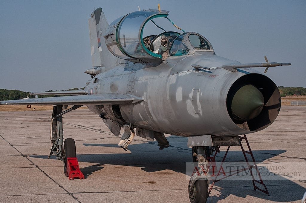 Ground to Ground Aviation Photography MiG-21