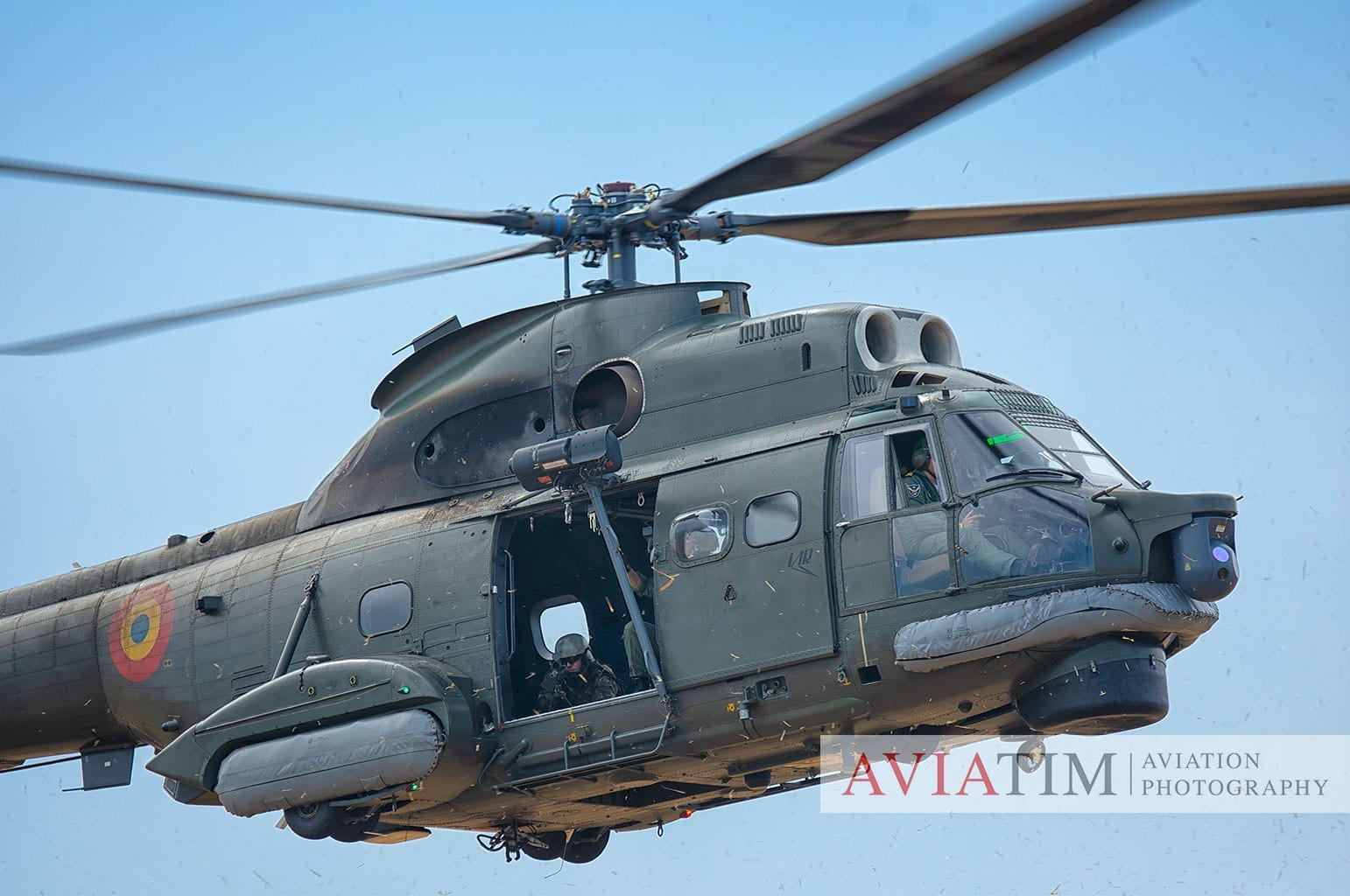 Romanian Navy IAR-330 Puma Naval Helicopter Gallery