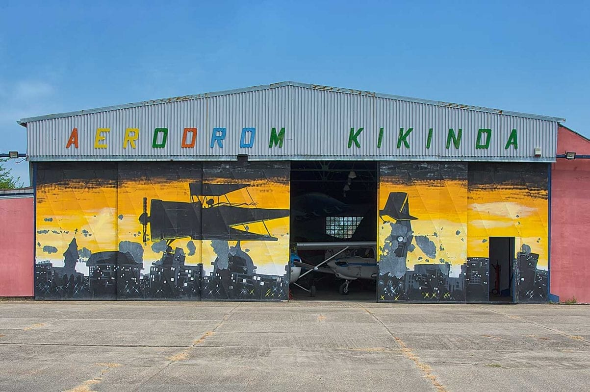 Kikinfa Airfiled Hangar