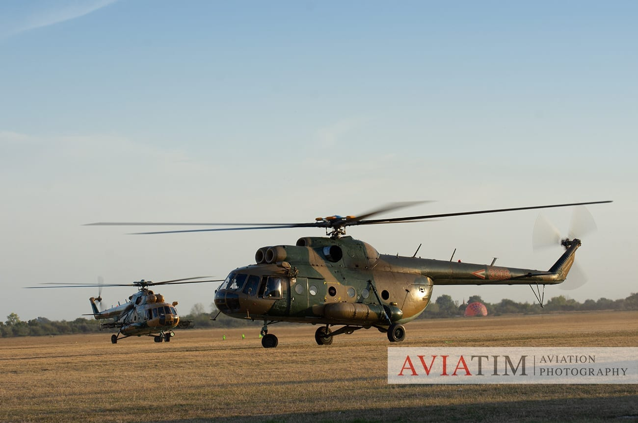 25. Szeged Air Show. Mil Mi-17. Hungarian Air Force Helicopter. Airshows